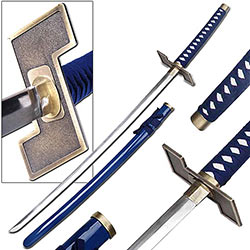 Grimmjow Zanpakuto Anime Sword Replica w/ Custom Guard