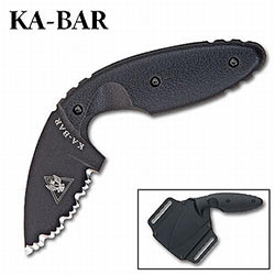 KABAR TDI Serrated Law Enforcement Knife