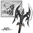Kit Rae Legion Battle Axe - Black Blades