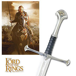 Lord of the Rings - Anduril Sword of King Elessar