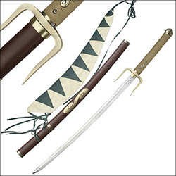 Typhoon Swell Anime Samurai Sword