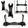 Musashi Single Sword Stand w/ Red Velvet