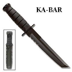 KABAR Tanto Black w/ Sheath
