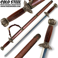 Cold Steel Battle Ready Gim Tai Chi Sword 88G