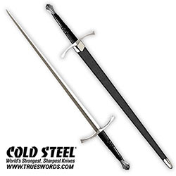 Cold Steel Italian Long Sword - Hand-and-a-Half Style - 88ITS