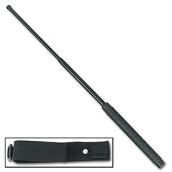 "Baton - Tactical Force - 26"" Extendable Police Baton w/ Sheath"
