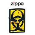 Zippo Bio Radiation Hazardous Lighter Z24330