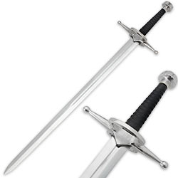 45 In. Renaissance Rider Two Hand Broadsword