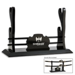 Shinwa Two Tier Sword Stand Display