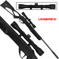 Umarex Surge Combo Spring-Powered Single Shot Air Rifle w/ 4x32 Scope