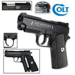 Colt Defender CO2 BB Repeater 1911 Replica