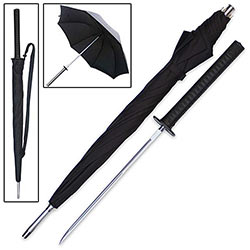 Sword Cane - Samurai Katana Umbrella w/ Hidden Blade
