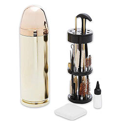 Universal Gun Cleaning Kit w/ Bullet Case