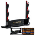 Musashi Three Tier Wall Mount Sword Display