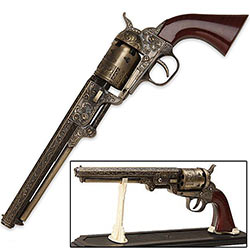 Western Navy Revolver Replica - Highly Detailed
