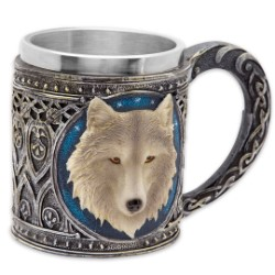 Moonwolf 12-oz Fantasy Coffee Mug Tankard