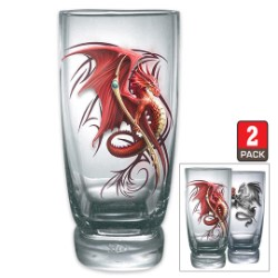 Wyvern Dragon Glasses – Set Of Two