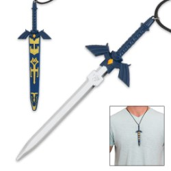Zelda Mini Blue Fantasy Neck Knife
