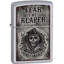 Zippo Fear The Reaper Lighter w/ Sons Of Anarchy - Smoke Finish