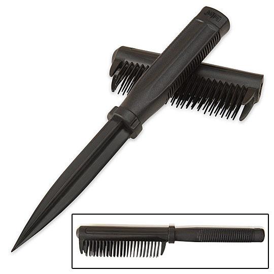 Covert Hidden Self Defense Spike Comb True Swords