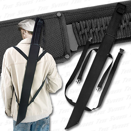 Cyborg Ninja Sword Back Sheath