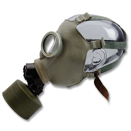 Czech Gas Mask Z - Side View