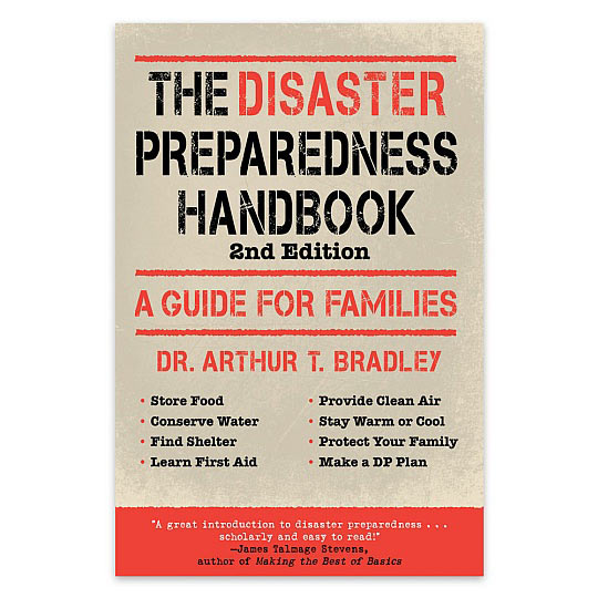 "Check Out Our New Emergency Preparedness Cookbook, ""recipes For Disaster"""