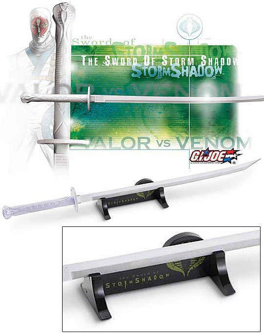 Storm Shadow GI Joe Sword Replica