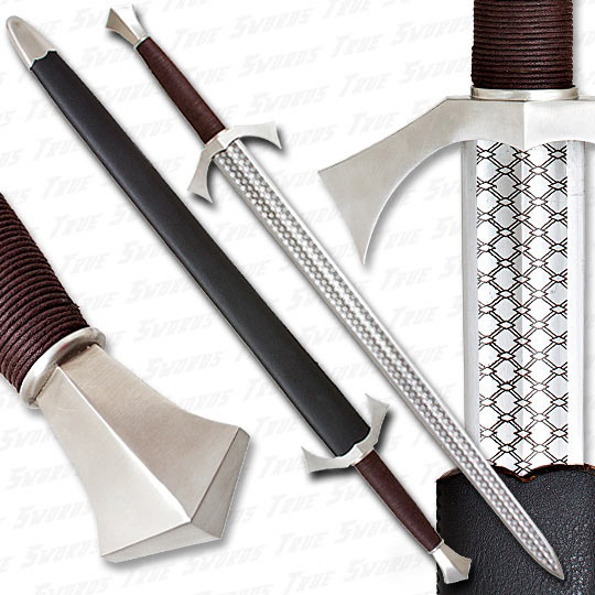 Honorable Knights Battle Sword of Chivalry - Detail Photo