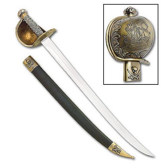 Jack Sparrow Pirate Cutlass Sword   True Swords