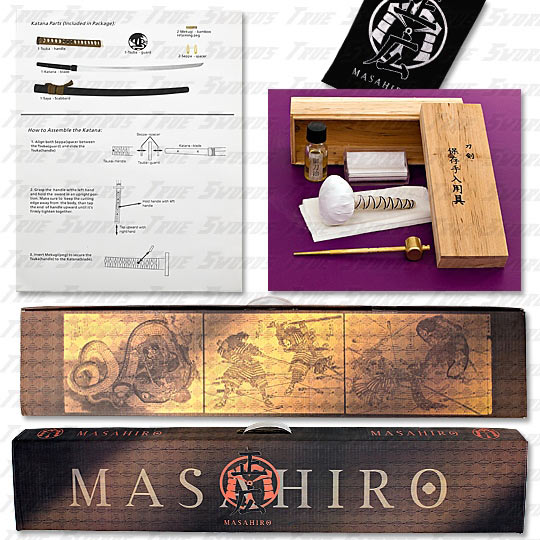Masahiro Samurai Sword Kit Assemble Yourself