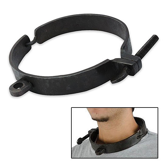 Medieval Dungeon Shackles - Neck Collar Cuff