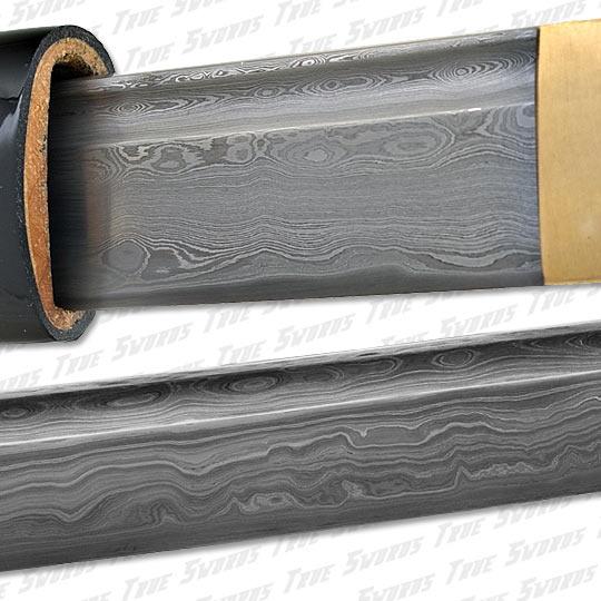 Musha - Sharp Damascus Steel Katana Sword 4096 Layers ...