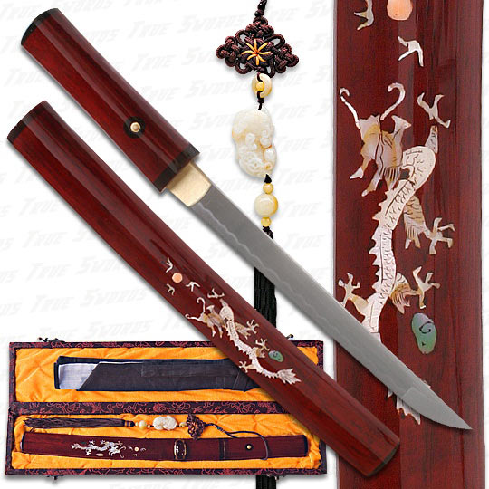 Musha - Mother of Pearl - Dragon Tanto