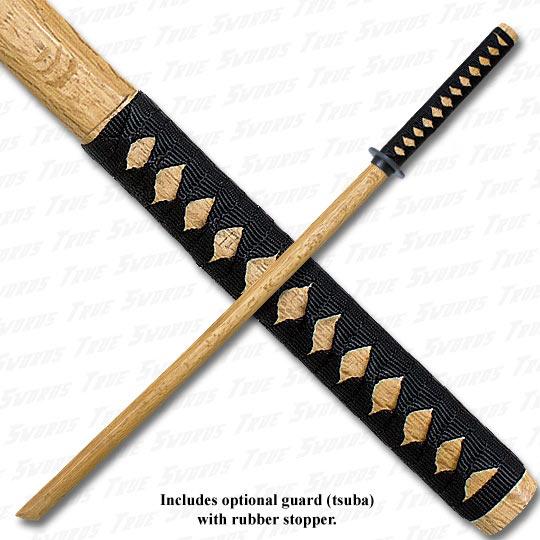 Wooden Daito Bokken Practice Katana Natural | True Swords