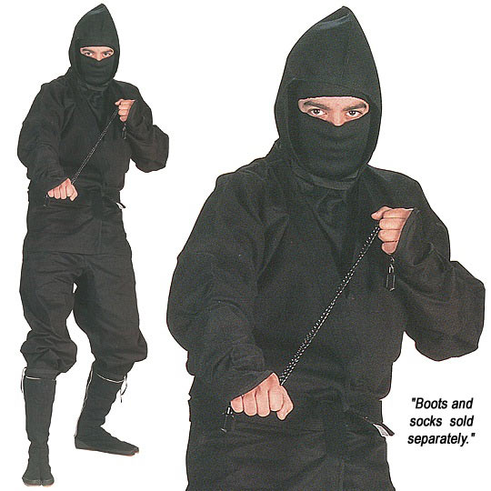 Ninja Uniform - High Quality Ninja Wear - X-Large