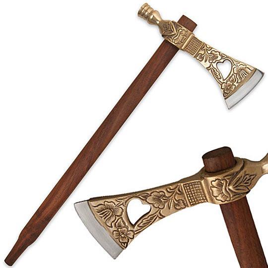 Axe Of King's Ornate_pipe_axe_replica