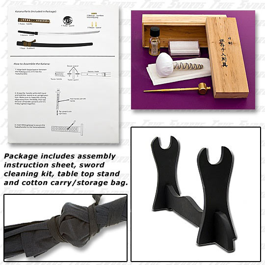 Sword Assembly Kit Extras
