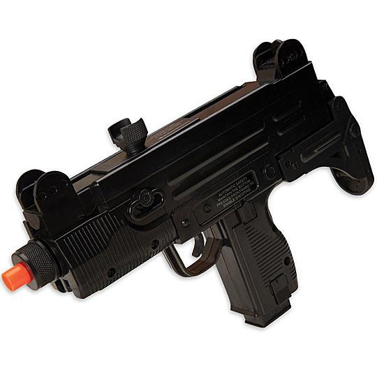 UZI Fully Automatic Airsoft Machine Gun Pistol AEG | True Swords