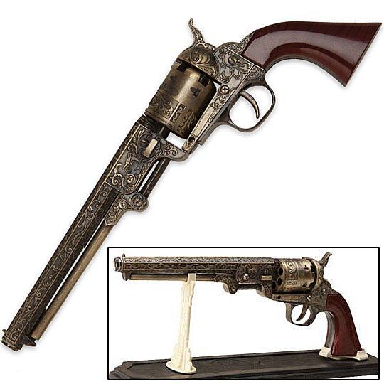 Western Revolver Gun Western Navy Revolver ...