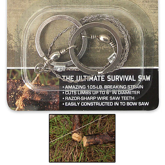 Wire Survival Saw - Hand Held & Compact